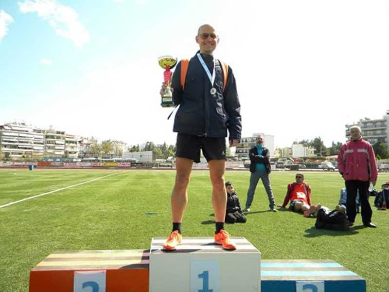 Γιώργος Τσιγερίδης, αθλητής του Α.Γ.Σ