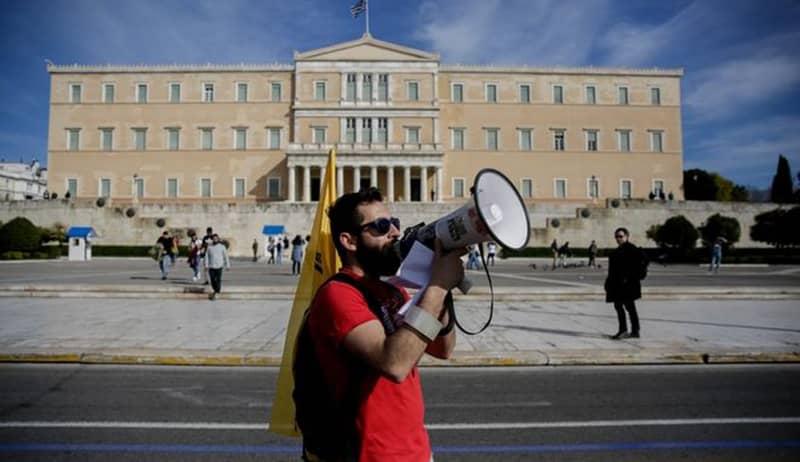Απεργία και συγκέντρωση διαμαρτυρίας στο Κέντρο της Αθήνας, Αρχείο EUROKINISSI
