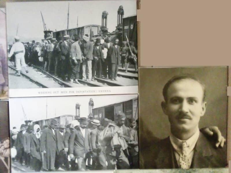 Ο Λαζαρος Ζαχαριαδης και η στιγμή της σύλληψής του