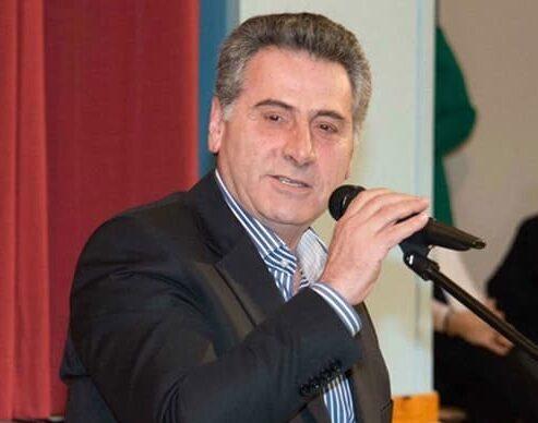 Ο Διευθυντής του 3ου Γενικού Λυκείου Νέας Ιωνίας, Μιλτιάδης Καναβός