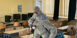 Απολύμανση σχολείων και νηπιαγωγείων