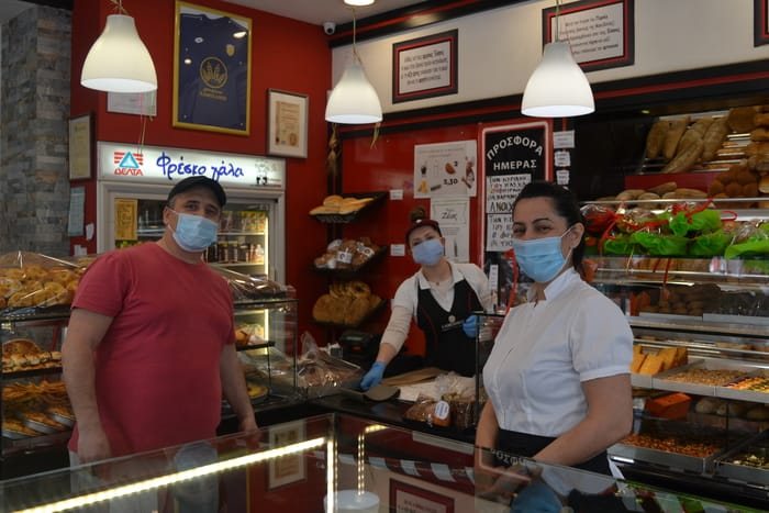 Αρτοποιεία – Ζαχαροπλαστική «ΣΑΜΠΑΝΗ»: θα είμαστε δίπλα στον κόσμο αυτή την δύσκολη εποχή