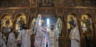 χειροτονία του π. Ιωάννη Πάσσου στη Νέα Ιωνία