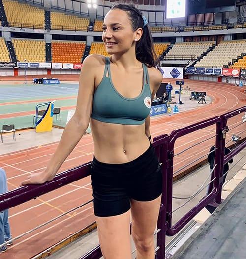 Κυριακή Φιλτισάκου, αθλήτρια στίβου Α.Γ.Σ. Ανατολή Νέας Ιωνίας